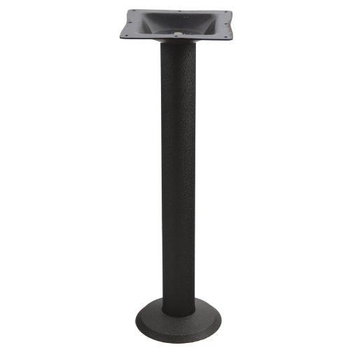 P1F Bolt Down Black Table Base - Counter - Table Down Base Bolt