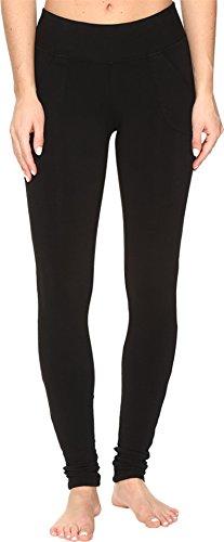 Hard Tail Women's Slash Pocket Leggings Black (Hard Pocket)