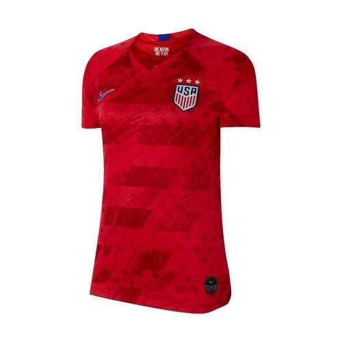 USA 2019 Womens Away Jersey (Red, WXS)