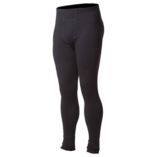 Minus33 Merino Wool Men's Katmai EXpedition Bottom, Black,