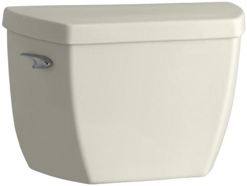 (KOHLER K-4484-96 Highline Wellworth 1.1 GPF Toilet Tank, Biscuit)