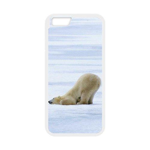 "LP-LG Phone Case Of Polar Bear For iPhone 6 Plus (5.5"") [Pattern-2]"