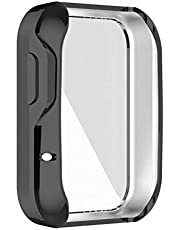 Oyria Etui ochronne na ekran pełne pokrycie ochronne TPU etui odporne na zarysowania powłoka zderzak osłona pełna ochronna obudowa do zegarka Mi Watch Lite/Redmi Watch