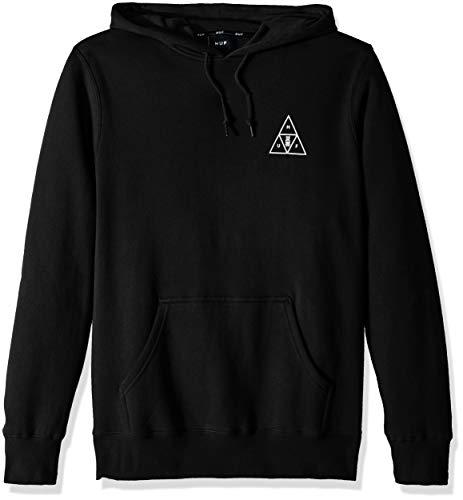 - HUF Men's Memorial Triangle P/O Hoodie, Black, S