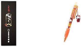 [2点セット] 岐阜銘菓 音羽屋 飛騨のかたりべ[6個入] ・飛騨さるぼぼだっこキティ ボールペン / 子宝・安産祈願 //