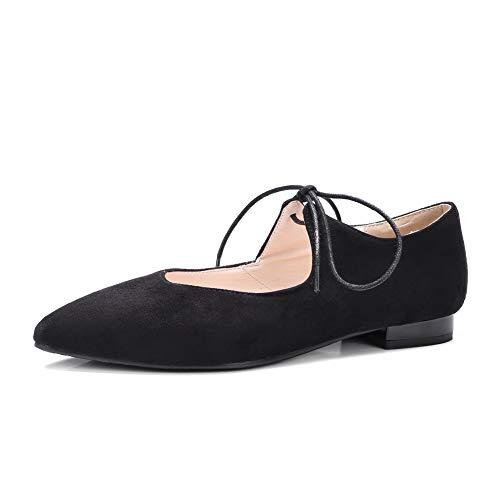 AdeeSu Compensées Sandales 5 EU Femme SDC05560 Noir Noir 36 qq1BUFwx