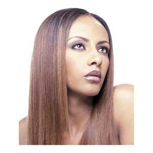 (Shake N Go MilkyWay 100% Human Hair Weave - Yaky Weave 10