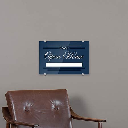 CGSignLab Grand Opening 27x18 Basic Navy Premium Acrylic Sign