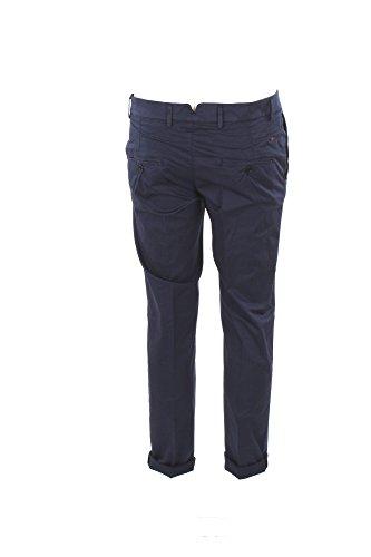 Pantalone Uomo Daniele Alessandrini 46 Blu P33213802 Primavera Estate 2018