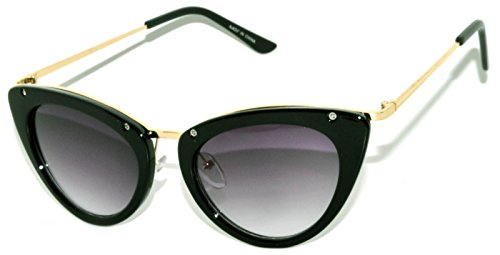 Classic Vintage Cat Eye Smoke Lens Sungl - Stylish Cat Shopping Results