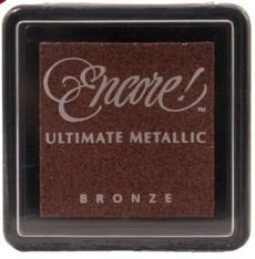 Price comparison product image Tsukineko Metallic Encore Mini Ink Pad - Bronze
