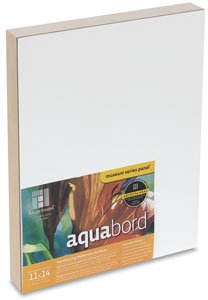 Ampersand Aquabord Panel for Watercolor and Gouache, 1.5 inch Cradled Profile, 16X20 inch (CBTG1620) by Ampersand