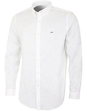 Men's White Men's Shirt in Size XL White