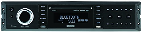 - JENSEN JWM90A Slimline 3-Zone Source Theater-Style Bluetooth Wallmount Stereo with App Control, DVD/CD-R/RW & MP3 Compatible, Dual HDMI Video Output, HDMI ARC, USB Play MP3/WMA Files, Rear RCA In/Out