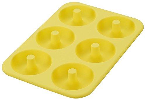 FantasyDay® 6er Silikon Backform / Muffinform für Muffins, Cupcakes, Kuchen, Pudding, Eiswürfel und Gelee - Donut