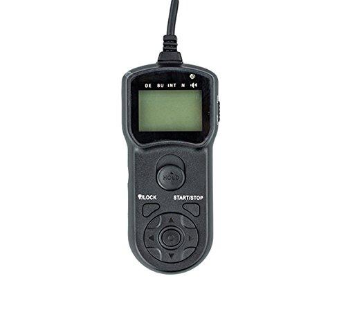 JJC TMC LCD Timer Remote Control for Canon EOS 60D 1000D 700D 650D 600D 550D 500D 450D Rebel Series (Black)