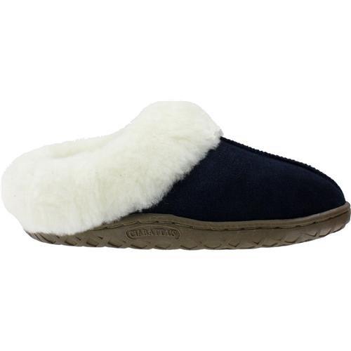 10 Blue Joyce Size Women's on Ciabatta's Slip Navy Sheepskin qg8wBw
