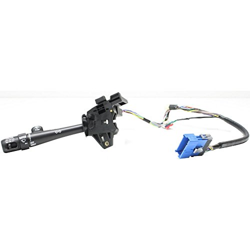 Turn Signal Switch compatible with Buick Park Avenue 97-05 W/Lever Also Controls Headlight Dimmer Windshield Wiper