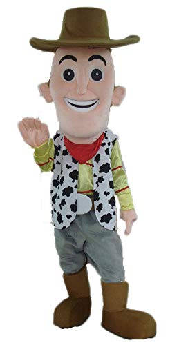 - Adult Size Toy Story Character Cowboy Woody Mascot Costume Cartoon Mascots for Party Fancy Dress