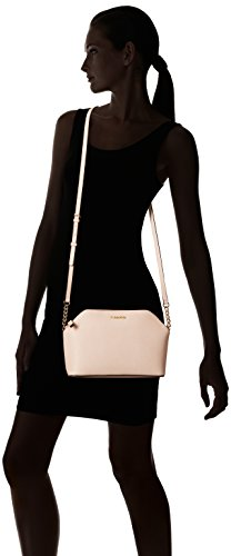 Saffiano Calvin Top Crossbody Leather Intimate Klein Chain Zip nIIAqS