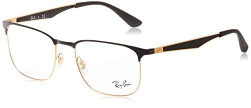 Ray-Ban RX6363 Metal Square Prescription Eyeglass Frames