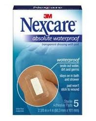 Nexcare Tegaderm + Pad Waterproof Transparent Dressing H3584-02