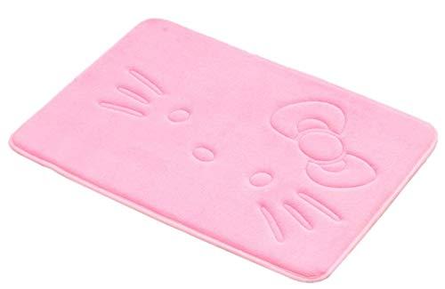 Stay Young Bathroom Rugs Bath Mat Door Mat Kitchen Mat Welcome Mat Soft Non Slip Absorbent Cute Cartoon Rug Nice Pink