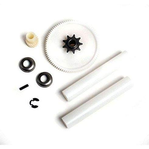 Compatible Drive Gear Kit for KitchenAid KUCS02CRBL0 Jenn-Air TC707S1 Maytag MTUC7000AWS2 Kenmore 66513601790 Thrash Compactor by DOK Parts Best