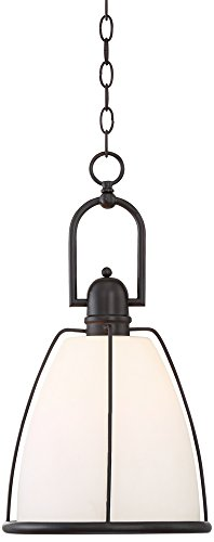 Eastlake 11″ Wide Dark Bronze Mini Pendant