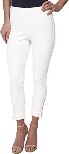 Zipper Cropped Legging - 4