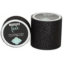 Heidi Swapp Marquee Love - Black Glitter Tape