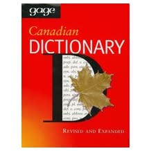 Gage Canadian Dictionary: Hardcover