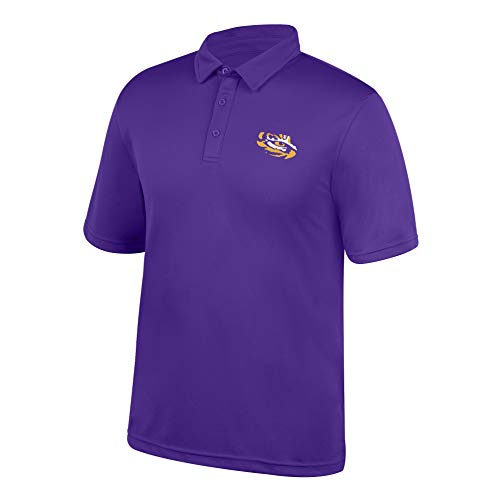 (Top of the World Lsu Tigers Polo, Purple, X)