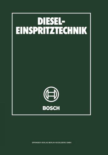 Diesel-Einspritztechnik (German Edition) by Springer
