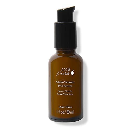 100% PURE Multi-Vitamin PM Serum, Anti-Aging Night Cream, Daily Vitamin Serum (1 Fl - Multivitamin Serum
