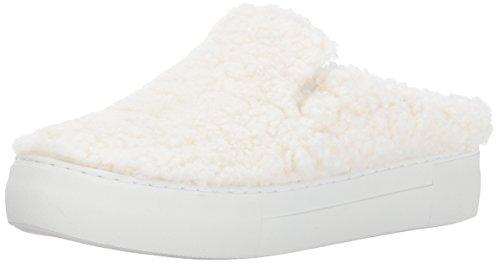 J Slides Women Affair Fashion Sneaker, White, 7.5 US/US Size Conversion M US White