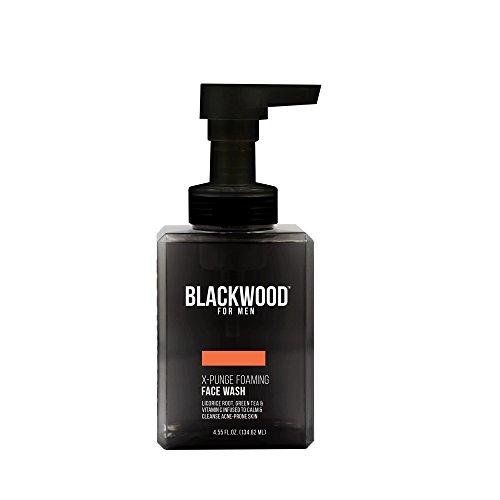 Blackwood For Men X-Punge Foaming Face Wash, 4.55 Fluid Ounce (Wash Moisturizing Men Face)