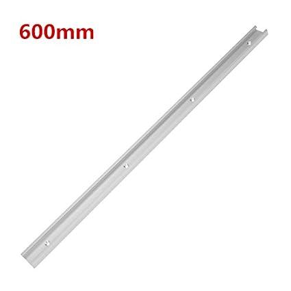 300mm herramienta de carpinter/ía T-Track de aleaci/ón de aluminio Equipo de m/áquinas de trabajo profesional 400 mm T-Slot de 300 mm