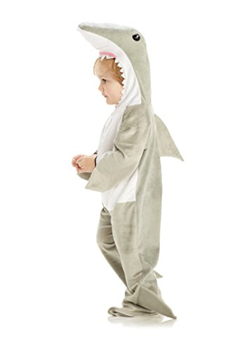 Underwraps Baby's Shark, Grey/White, Medium ()