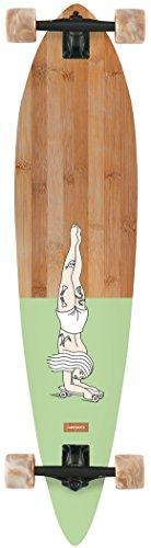 Pinner Longboard - Landyachtz Bamboo Pinner Handstand Longboard Skateboard 2018 New