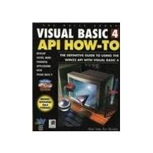 Visual Basic 4 API How-to: Definitive Guide to Using the Win32 API with Visual Basic 4 by Noel Jerke (1996-05-06)