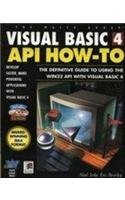 Visual Basic 4 API How-to: Definitive Guide to Using the Win32 API with Visual Basic 4 by Noel Jerke (1996-05-06) by Waite Group