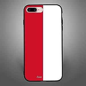 iPhone 8 Plus Monaco Flag