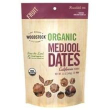 Woodstock Organic Medjool California Fnc Dates 12 Oz. - -Pack of 8 (Woodstock Dates)