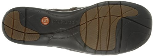 Clarks Un Esma Slip-on del holgazán Brown Leather