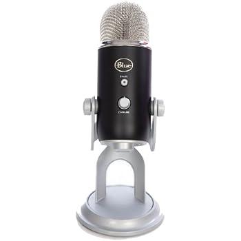 blue microphones yeti usb microphone black musical instruments. Black Bedroom Furniture Sets. Home Design Ideas