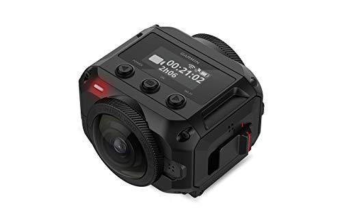 Garmin VIRB 360, Waterproof 360-degree Camera, 5.7K/30fps Resolution, 1-Click Video Stabilization up to 4K Resolution (Renewed)