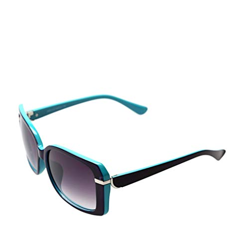 DFZJJ Gafas de Sol- Gafas de Sol de Moda Cara Redonda ...
