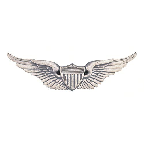 Medals of America US Army Aviator Badge Dress Mini Silver Oxide Miniature