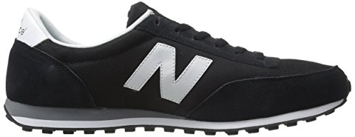 ML Femme Basses Wl410v1 New Balance White Black Baskets Noir wx4BnOR